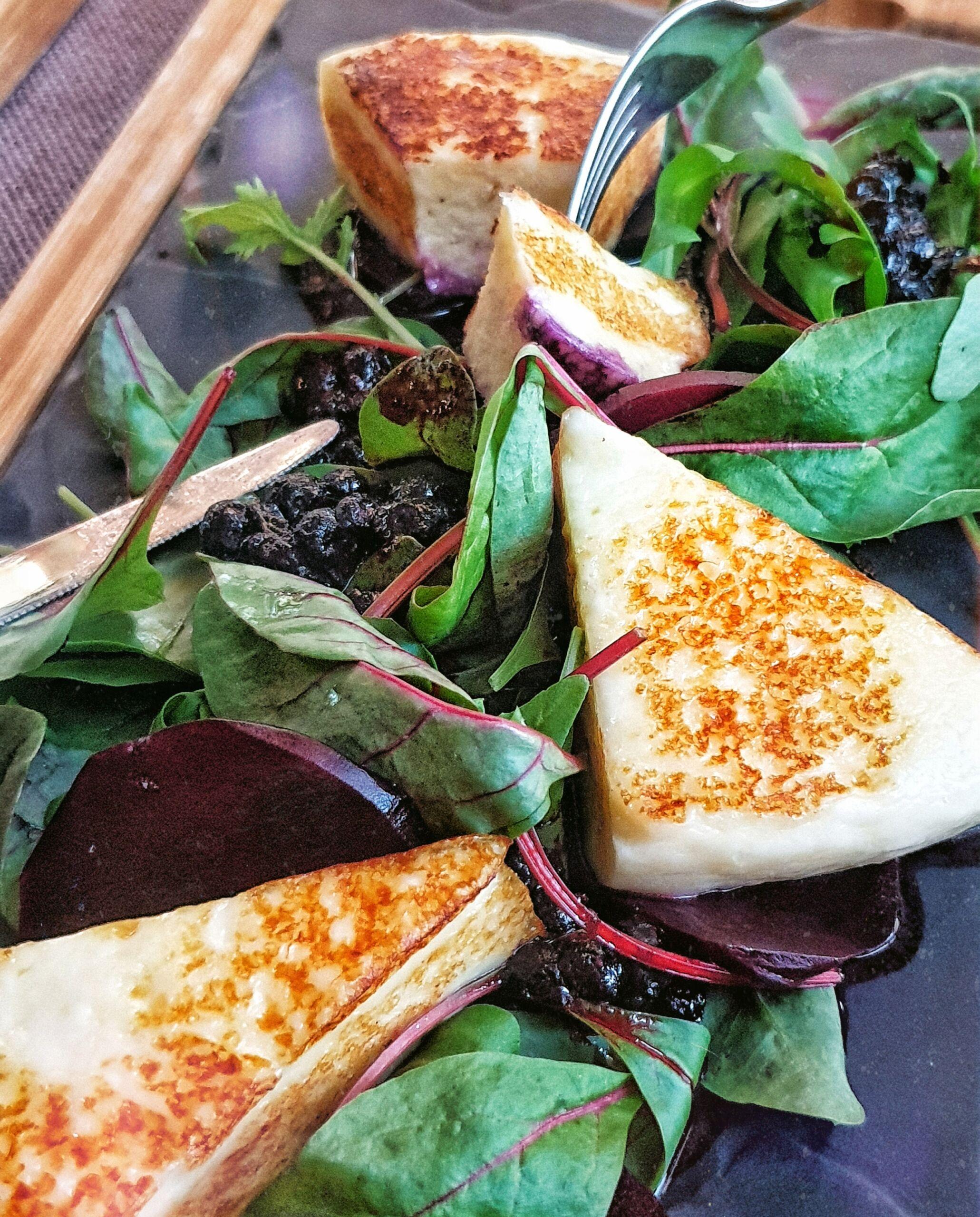 Жареный сыр Халуми Pinzeria by Bontempi Итальянский ресторан Волгоград пицца заказать