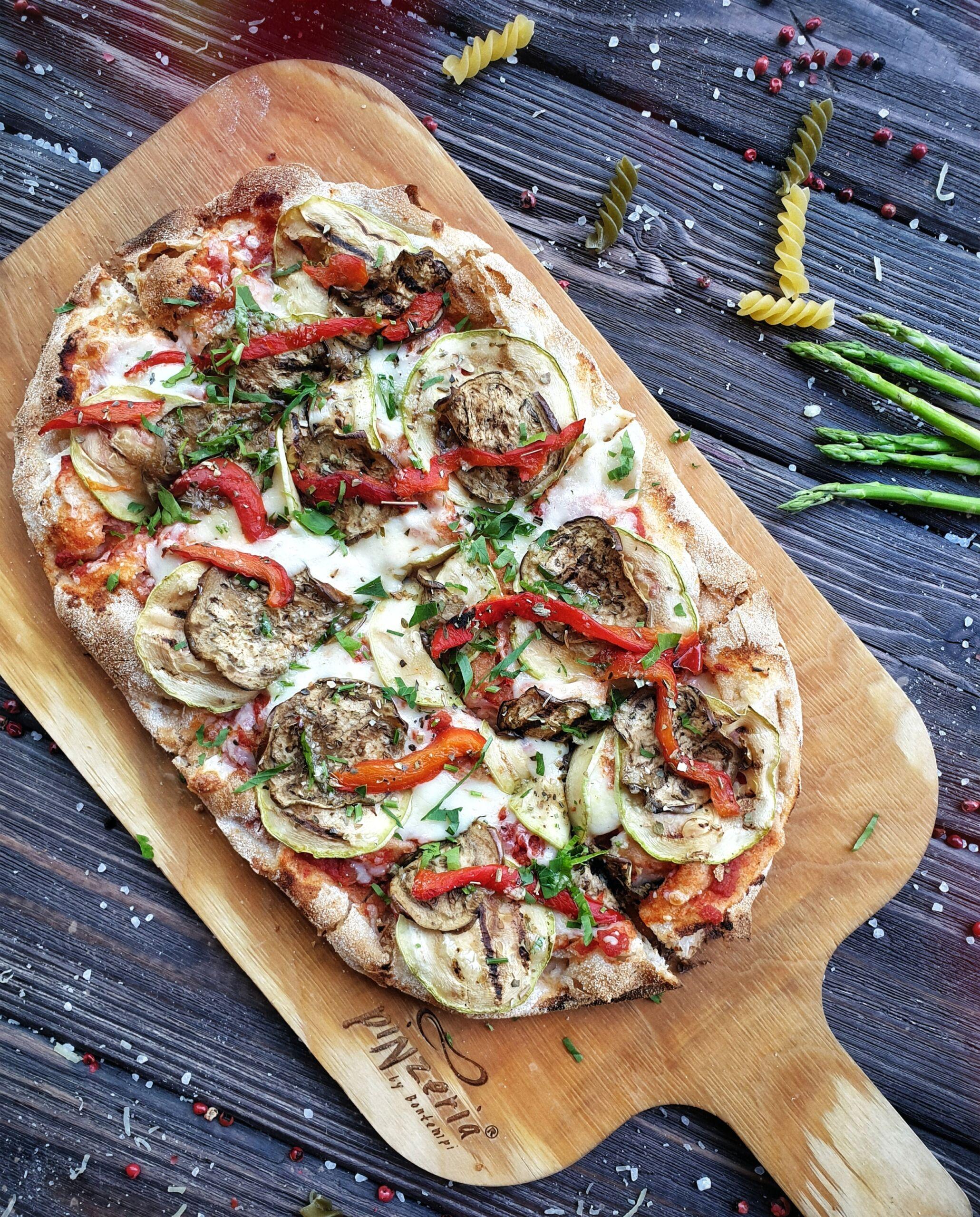 Пинца Вегетарианская Pinzeria by Bontempi Итальянский ресторан Волгоград пицца заказать