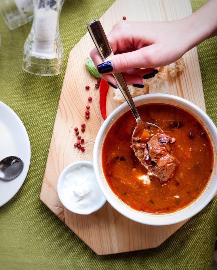Суп «Мантанаро»