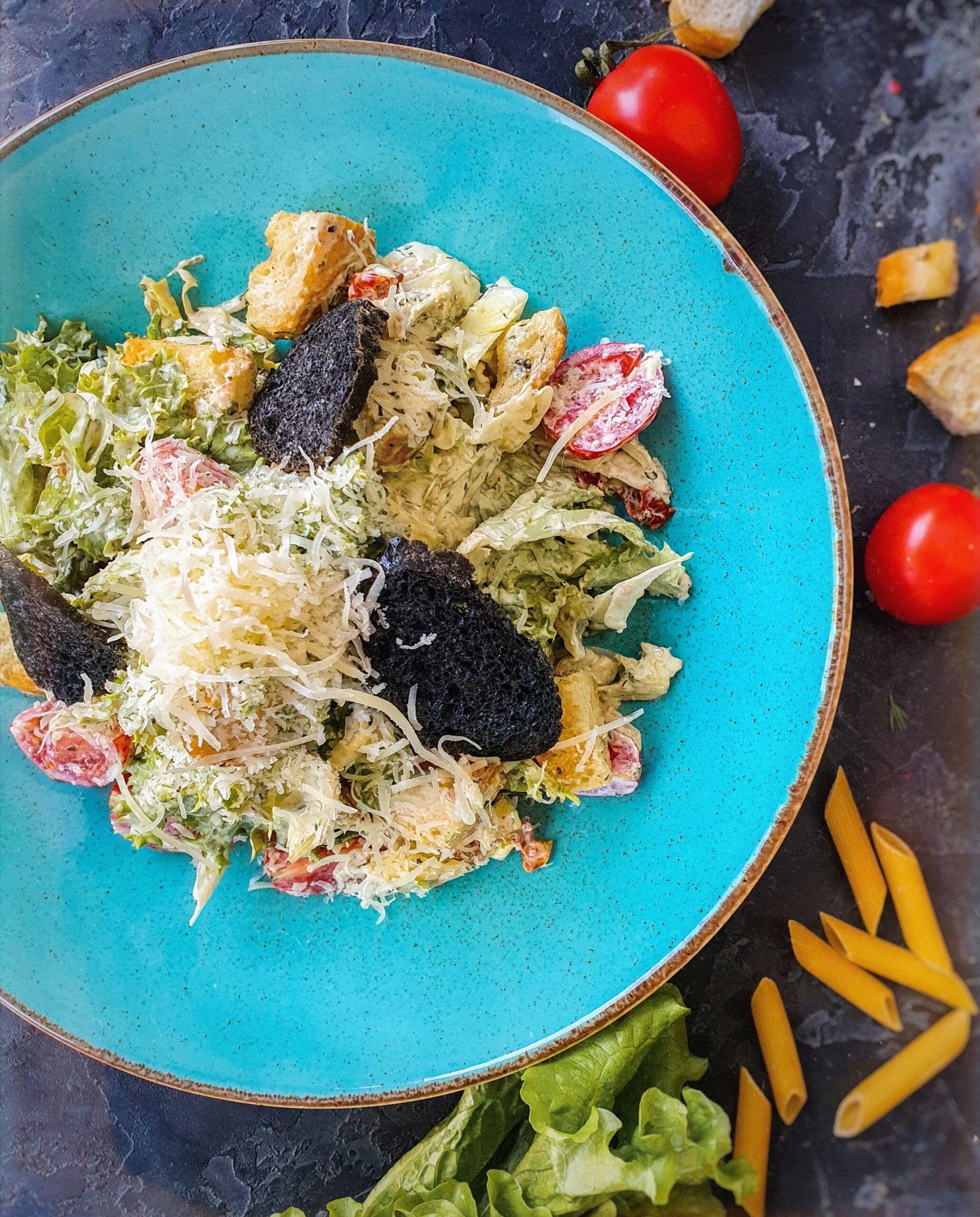 Цезарь с курицей Pinzeria by Bontempi Итальянский ресторан Волгоград пицца заказать