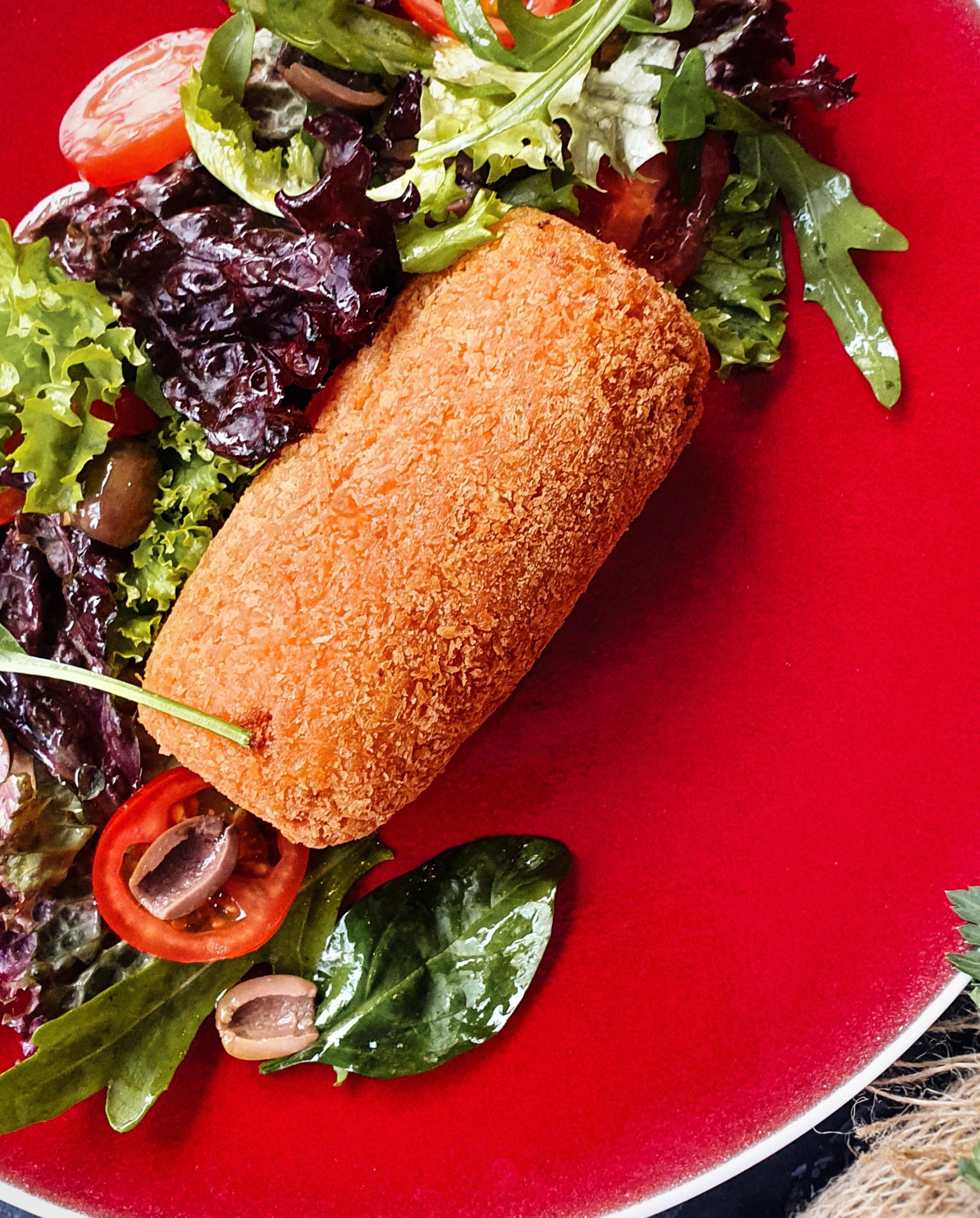 Куриное аранчини с сыром и овощами Pinzeria by Bontempi Итальянский ресторан Волгоград пицца заказать