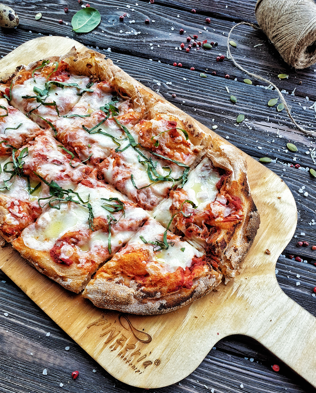 Пинца Маргарита Pinzeria by Bontempi Итальянский ресторан Волгоград пицца заказать